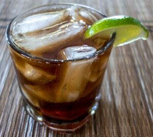 Cuba libre real food finds for White rum with coke