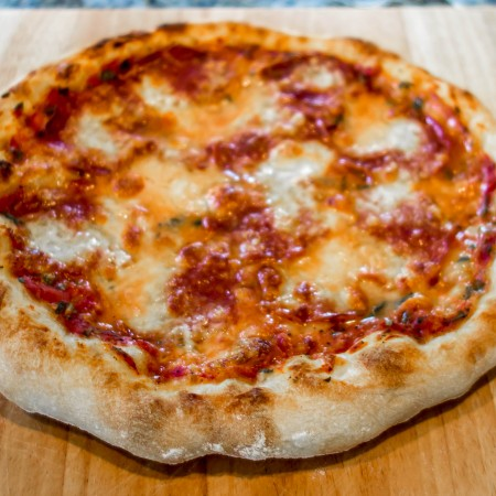 Homemade Pizzeria Style Pizza