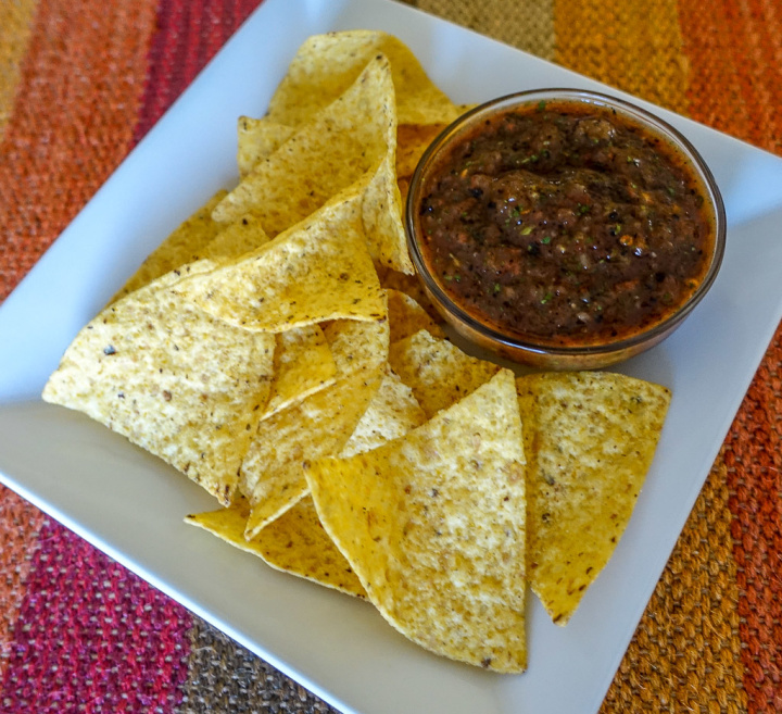Roasted Tomato Chipotle Salsa-7