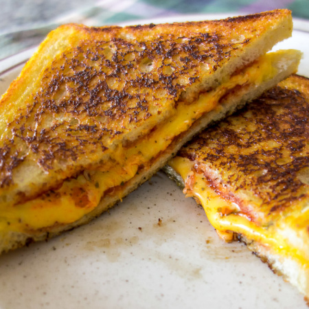 Grilled Cheese (Pizza Sandwich)