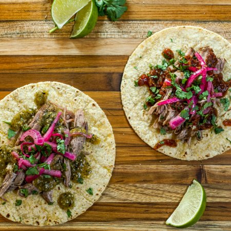 Citrus Braised Pork Tacos