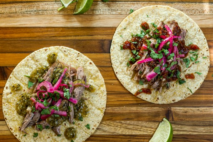 Citrus Braised Pork Tacos-8